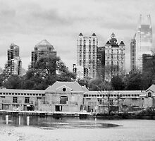 Midtown-Atlanta Skyline - Piedmont Park  by trwphotography