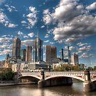Melbourne CBD from Southbank  by Alexandre Barreto