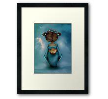 Legend of Little Geisha Framed Print