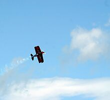 Stunt Plane fly by by Michael Conn