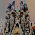 the Sagrada Familia by Glenn Browning