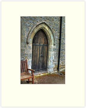 The Door - St Gregory's Minster by Trevor Kersley