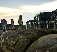 Angkor Wat Sunset by Ronojoy