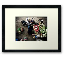 Stop and Go Framed Print