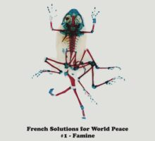 French Solutions For World Peace #1 - Famine by TeeArt