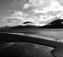 Might I retreat with you Dear Water (Seward HWY, Alaska) by Jenny Ryan