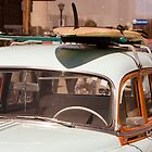 Surfin' USA - Surfboard and Woody by Buckwhite