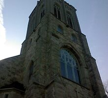 Sacred Heart of Mary Steeple - Wolfe Island Ontario by Allen Lucas