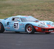 1969 Ford GT 40 Replica by Kellea Croft