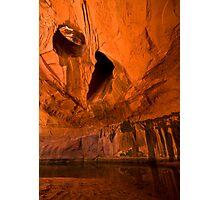 Neon Canyon Photographic Print