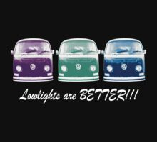 Lowlights are BETTER!! Kombi Shirt - Purple, Green, Blue by melodyart