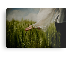 with nature Metal Print