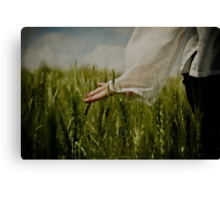 with nature Canvas Print