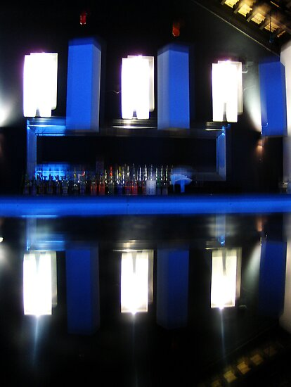 Black and Blue Bar by Carole Boudreau