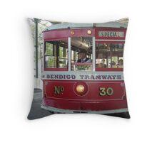 Bendigo..Talking Tram   Throw Pillow