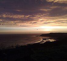 Heritage coastline sunrise by Julie Short