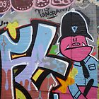 Old School Graffiti, Hackney Wick, London by runjoerun
