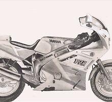 Yamaha FZR600 by Steve E