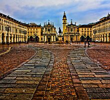 Turin - San Carlo square by becks78