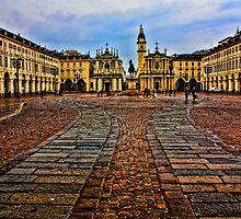 Turin - San Carlo square by becks78