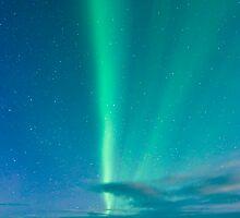 Aurora Borealis - Þingvellir #3 by Stefán Kristinsson