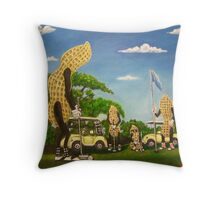 Nutz Bout Golf Throw Pillow