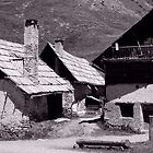 traditional French mountain chalets by alixlune