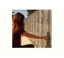 Veterans Memorial - All Gave Some... Some Gave All Art Print