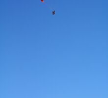 parapente in sky by alixlune