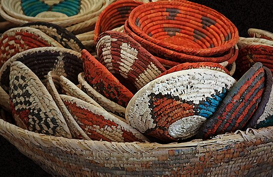 A Bowl of Baskets by CarolM