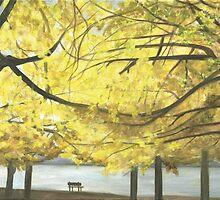Boston esplanade #3 by Barbara Weir