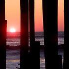 Sunrise Under the Pier by Lolabud