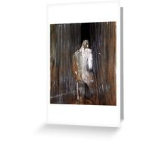 Human Form by Francis Bacon Greeting Card