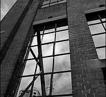 Urban Landscape # 5 Haymarket Window Chinatown Sydney by Juilee  Pryor