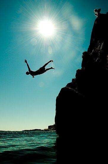 Cliffdiver by Vegard Giskehaug