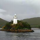 Bonnet Island Lighthouse at Hells Gate by Marilyn Harris