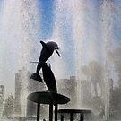 Dolphin Shower by sunsetrainbow