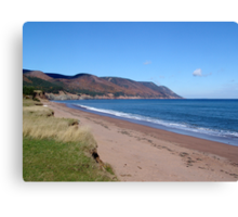 Aspy Bay and Cape North Canvas Print