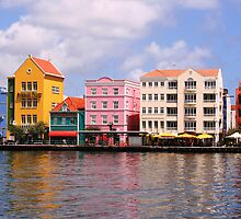 Curacao Harbor by William Guilmette