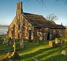 St. Peter's Church, Heysham by Steve  Liptrot