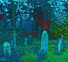 Rainbow Graveyard by ciararachel