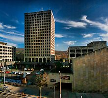 Binghamton Governemtn Plaza by GPMPhotography