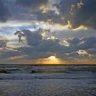 Gulf of Mexico Sunset by Maryna Gumenyuk