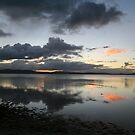 Wallis Lake mirror by Alexander Meysztowicz-Howen