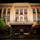 Pueblo Deco Architecture - The Kimo Theater, Downtown Albuquerque by Mitchell Tillison