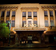 Pueblo Deco Architecture - The Kimo Theater, Downtown Albuquerque by Mitchell Tillison