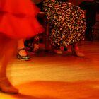 red flamenco dress by sirjonty
