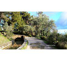 Beautiful canal Photographic Print