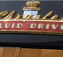 Chrysler Fluid Drive | Classic Car Emblem Series | Dominic R Sondy by Dominic R. Sondy