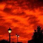 Sky's Burning Glow by Tina Longwell